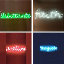 neon lighting for home apartment therapy new york neon lights at home