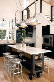 movable kitchen islands with seating stunning movable kitchen island with seating stainless steel
