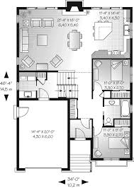 Split Floor Plan House Plans by Saddlepost Split Level Home Plan 032d 0673 House Plans And More