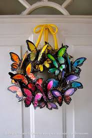 creative butterfly decor wreaths butterfly and creative