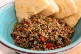 recette comment cuisiner les lentilles taboulé de lentilles et pita libanais fait maison une