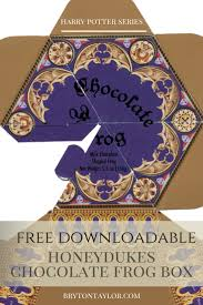 where to buy chocolate frogs chocolate frog box template harry potter hogwarts dinner party
