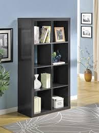 8 shelf bookcase partition book shelves