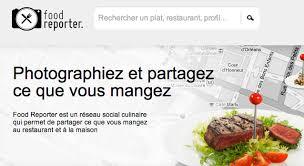 reseau social cuisine food reporter le réseau social de la photo gourmande frenchweb fr