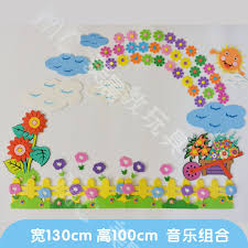 How To Decorate Nursery Classroom Usd 11 67 Primary School Nursery Classroom Culture Bar Wall