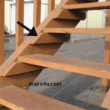 cleat stair framing and construction