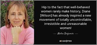 medea benjamin quote hip to the fact that well behaved