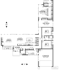 t shaped house floor plans one of my favorites love the l shaped house the flex space off
