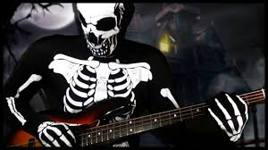 halloween pictures of skeletons spooky scary skeletons meets bass youtube