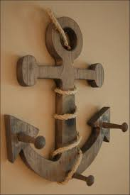 wooden anchor wall extremely creative wooden anchor wall decor lifes roughest