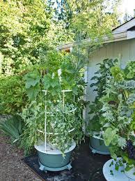 Vertical Aeroponic Garden Researchers Confirm Superior Yield Of Tower Garden Backyard