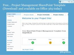sharepoint 2013 for project management from brightwork and atidan
