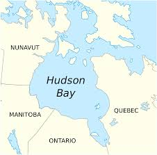 Physical Map Of Canada by Hudson Bay Wikipedia