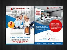 Comfort Cooling And Heating Air Conditioning Leaflet Postcard Flyer Or Print Contest