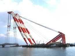 Yoshida U201d Is The World U0027s Biggest Floating Crane Used In Bridge