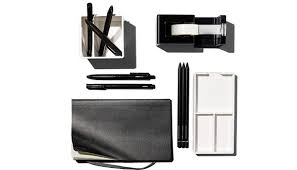 Black And White Desk Accessories Poppin S Sleek Office Supplies Make You Want To Work At Your Desk