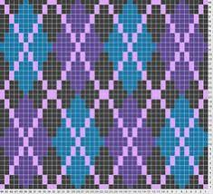 tricksy knitter charts ombre pallette by alissa tapestry