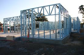trend decoration steel house frame manufacturers apartment for