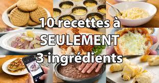 recette cuisine 3 10 recettes à 3 ingrédients l anarchie culinaire selon bob le chef