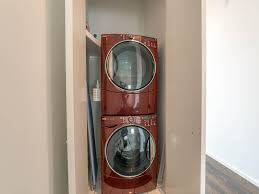 Laundry In Kitchen Design Ideas Pleasing 60 Full Size Stackable Washer And Dryer Design Ideas Of