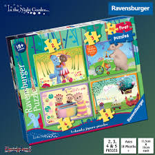 in the garden my puzzles 4 chunky jigsaw puzzles