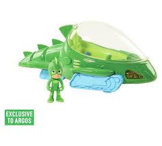 buy pj masks deluxe gekko vehicle 3 figure argos
