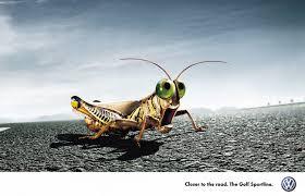 volkswagen ddb volkswagen golf sportline grasshopper ad by ddb gute werbung