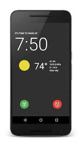 android alarm clock amdroid 1 smart alarm clock for android