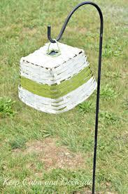 Diy Solar Light by Keep Calm And Decorate Solar Light Basket