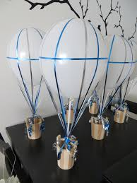 Baby Shower Centerpieces Boy by Centerpiece Boy Air Balloon Small Maki And His Room