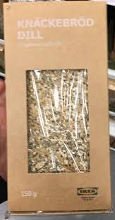 knäckebröd dill ikea 150 g 6 pièces