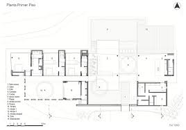sustainable modern country home in colombia drawing the collect