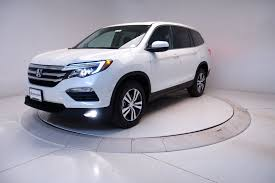 Honda Pilot New Body Style New 2017 Honda Pilot Ex L Sport Utility In Highlands Ranch