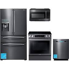 samsung rf28jbedbsg black stainless steel complete kitchen package