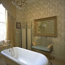 Bathroom With Wallpaper Ideas by Bathroom Modern Shower With Traditional Wood Cut Tree Warren