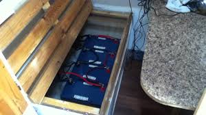 off grid trailer power system the battery storage and