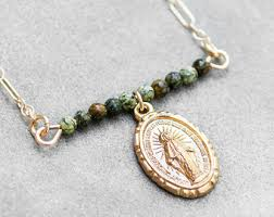 catholic necklaces handmade catholic necklaces inspired to witness by herwitness