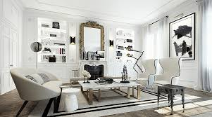 Parisian Bedroom Furniture by Glamorous Apartment In Paris Dazzles With Extravagance