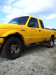 Yellow Ford Ranger Truck - tnttilley 2001 ford ranger regular cab specs photos modification