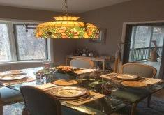stained glass dining room light attractive tiffany style dining room lights tiffany style stained