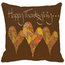 thanksgiving letters pillow case happy thanksgiving letters with heart of maple leaf