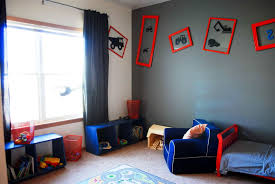 Kids Lego Room by Broken White Wall Paint Tree Motif On Black Walls Boys Lego