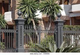 ornamental iron gates stock photos ornamental iron gates stock