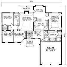Blueprints For 4 Bedroom Homes by 35 Best 4 Bedroom House Plans Images On Pinterest 4 Bedroom