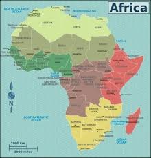 africa map landforms map of africa africa maps countries landform