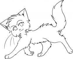 awesome looking warrior cats coloring pages womanmate com