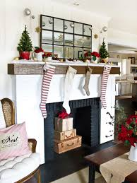 small decorative trees for mantle lights