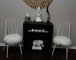 Vanity Chairs With Backs Vanity Stool Etsy