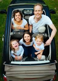 free stock photo of car children