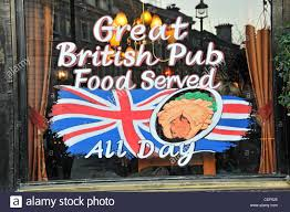 union jack pub stock photos union jack pub stock images alamy british pub food all day pub sign english food union jack flag britishness pie stock